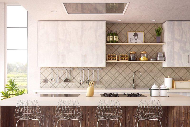 Ideas para que hagas una reforma de cocinas con poco espacio